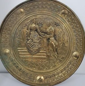 Other - Vintage Brass plate
